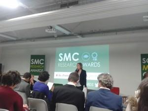 SMC Research Awards : soirée de remise des prix. 17 Décembre 2013
